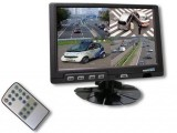 "7"" HD 1080P QUAD MONITOR"
